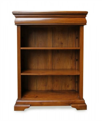 Sleigh Bookcase in Mahogany
